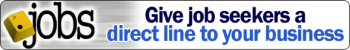 .JOBS - Give job seekers a direct line to your business